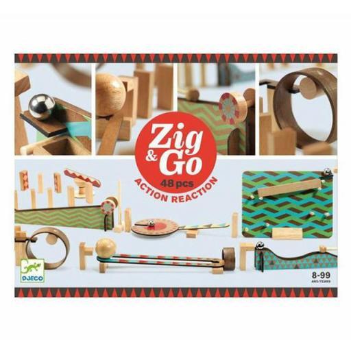 Construcción zig & go 48 piezas