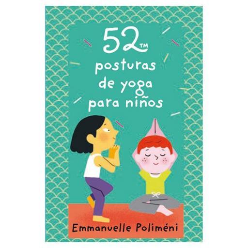 Baraja 52 posturas para yoga niños