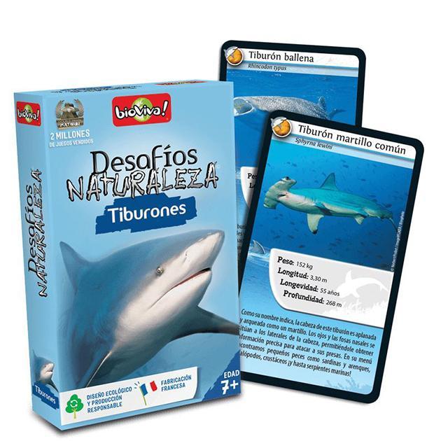 Desafío naturaleza: Tiburones
