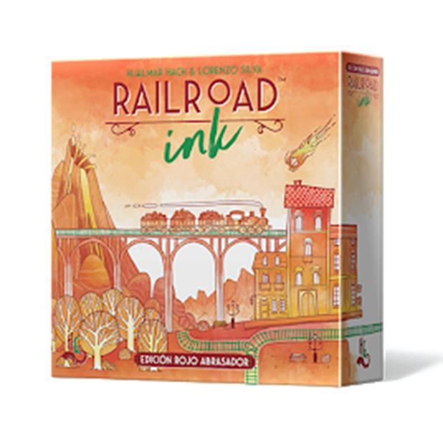 Railroad ink (edición rojo)