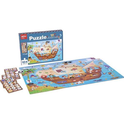 Puzzle observación barco pirata [1]