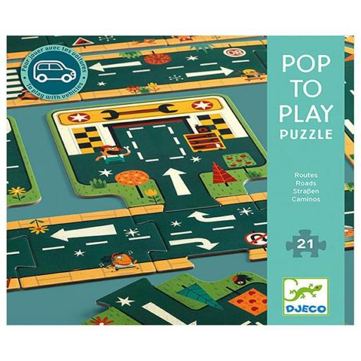 Pop to play. Carreteras