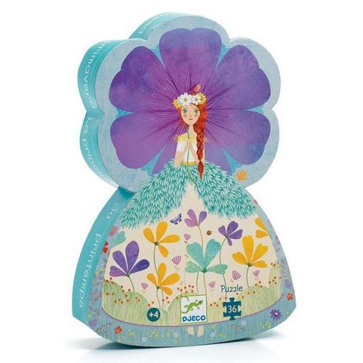 Puzzle la princesa de primavera