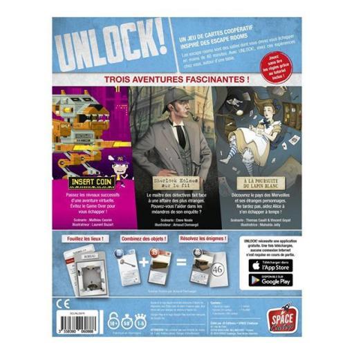 Unlock! Heroic adventures [1]
