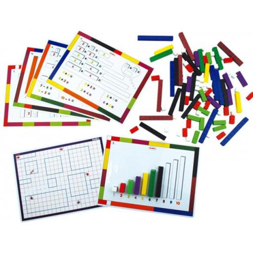 Kit de actividades con regletas