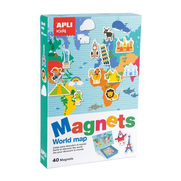 Magnético mapamundi