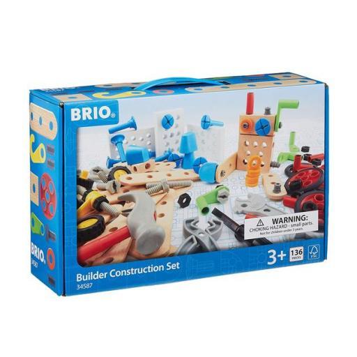 Brio builder construction set 136 piezas