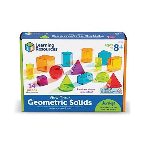 Figuras Geométricas Traslúcidas