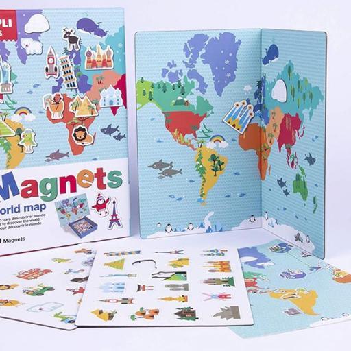 Magnético mapamundi [1]