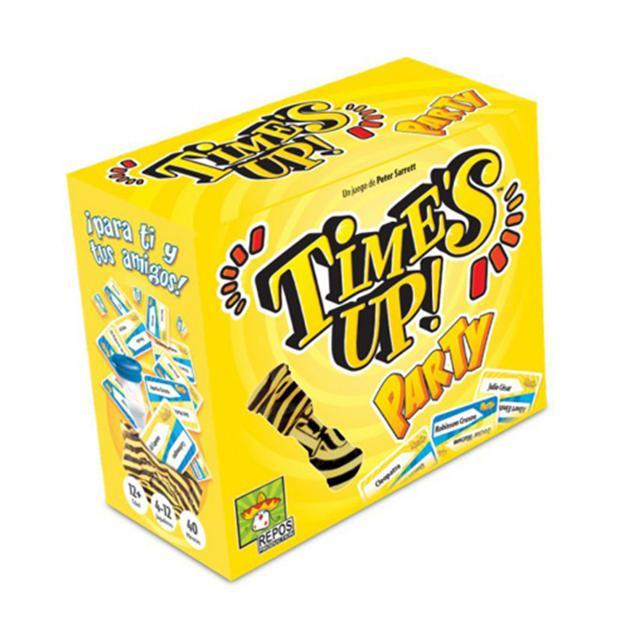 Time´s up party caja grande amarilla