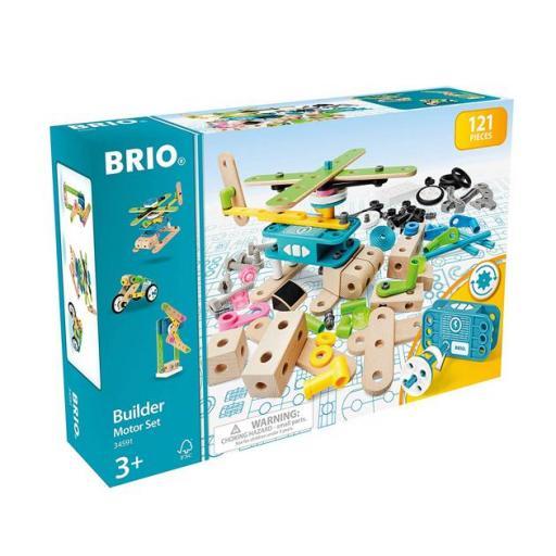 Brio builder motor set: construcción 121 piezas