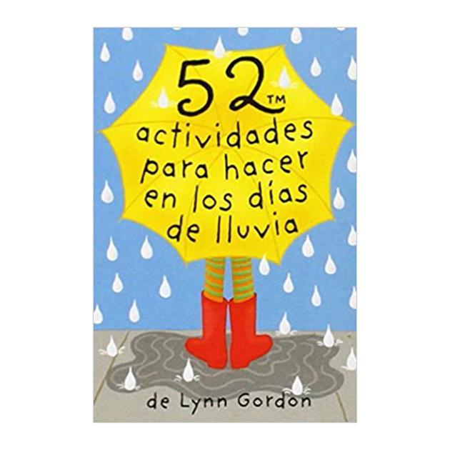 Baraja 52 actividades para hacer en días de lluvia