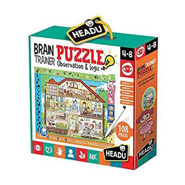 Brain puzzle trainer
