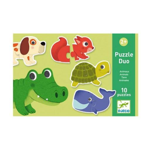 Puzzle dúo: animales