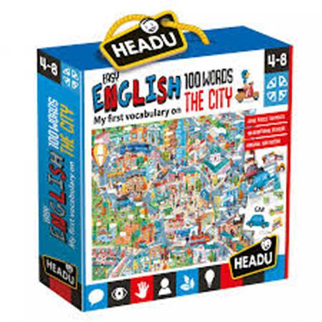 100 palabras inglés the city