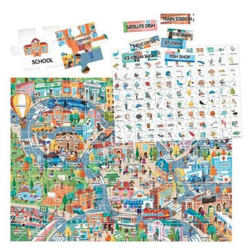 100 palabras inglés the city [1]