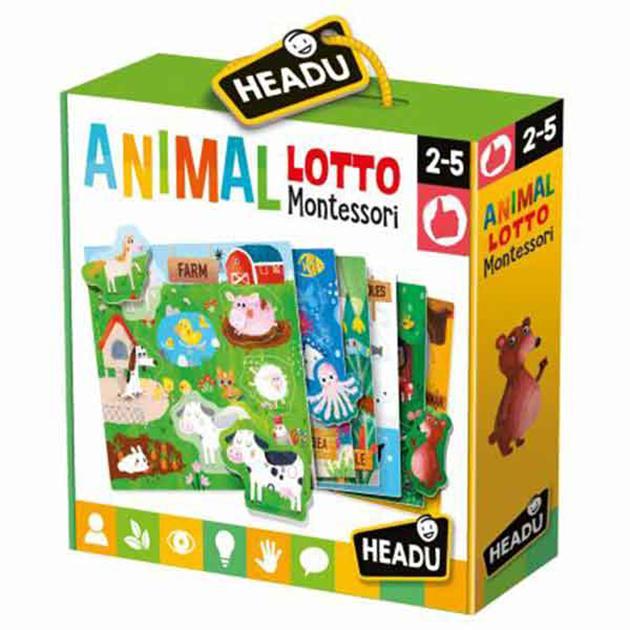 Animal loto montessori