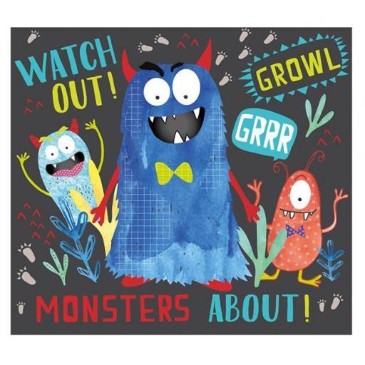 Puzzle monster friends 40 piezas [1]