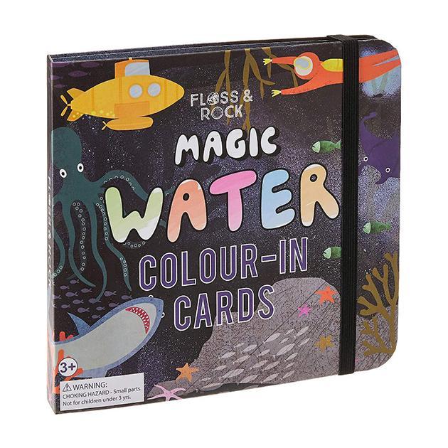 Libro mágico agua. Mundo submarino