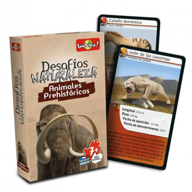 Desafíos naturaleza: animales prehistóricos