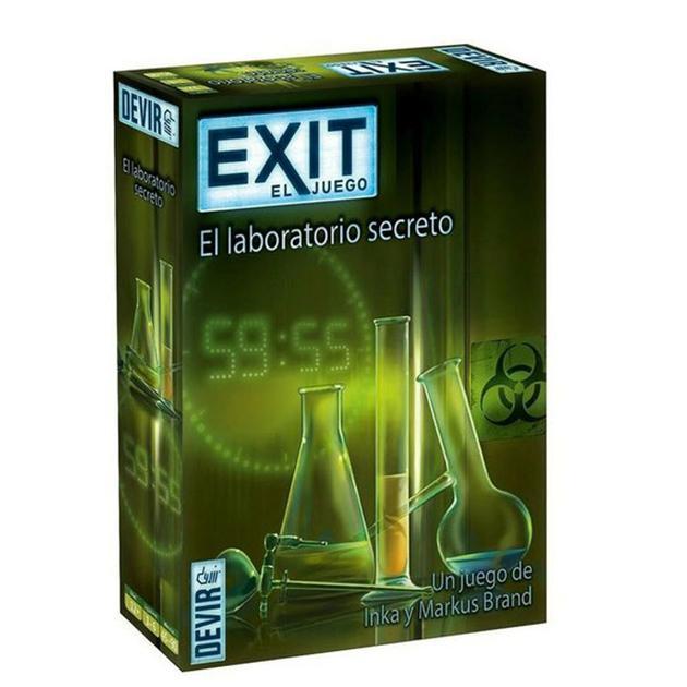Exit. El laboratorio secreto
