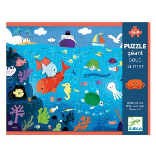 Puzzle bajo el mar
