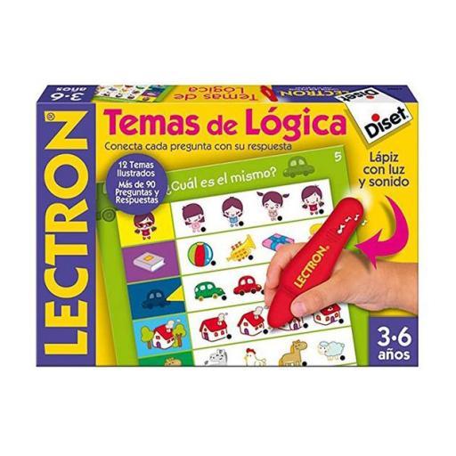 Lectrón lápiz temas de lógica