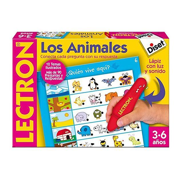 Lectron lapiz los animales