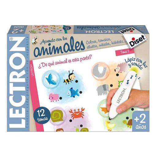 Lectrón lápiz baby animales