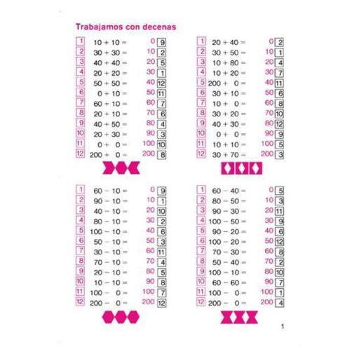 Aritmética 2 números del 10 al 100 [1]