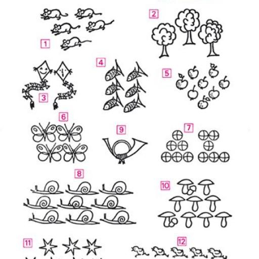 Aritmética 1 números del 1 al 12 [1]