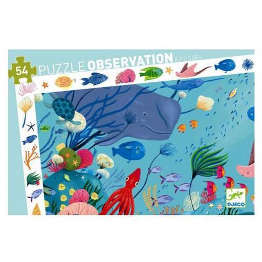 Puzzle observación:  acuático