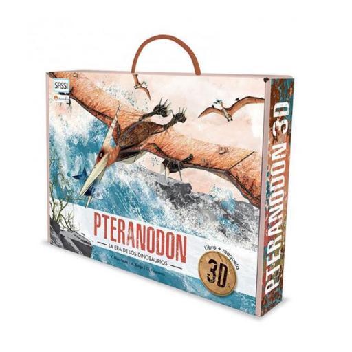 Pteranodon. Libro Maqueta