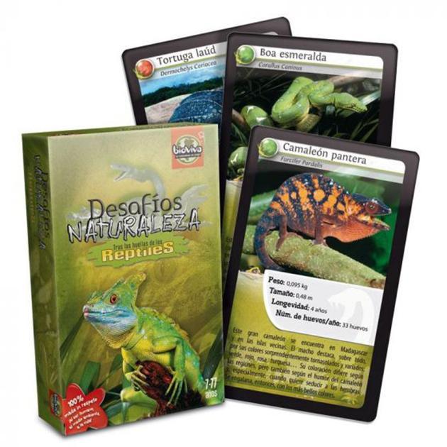 Desafíos naturaleza: reptiles
