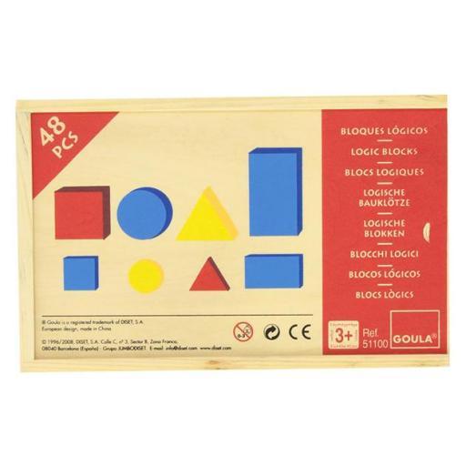Bloques lógicos 48 piezas [1]