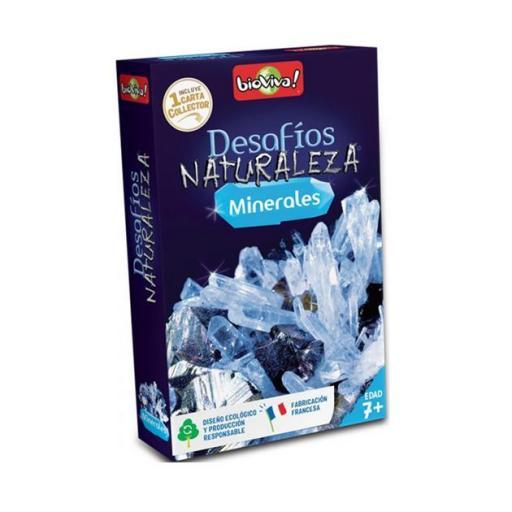 Desafíos naturaleza: minerales
