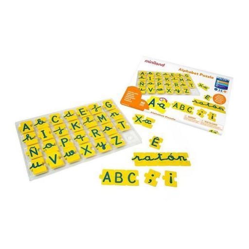 Puzzle alphabet  [1]