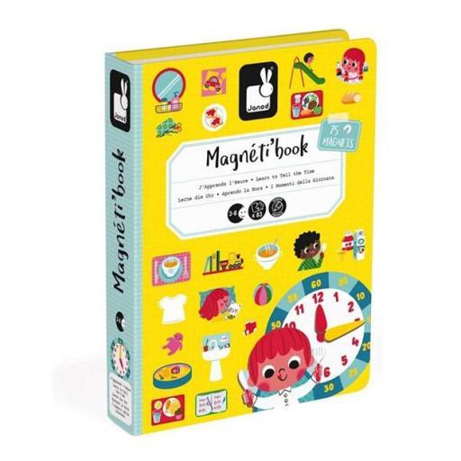Magnetic book aprendo la hora