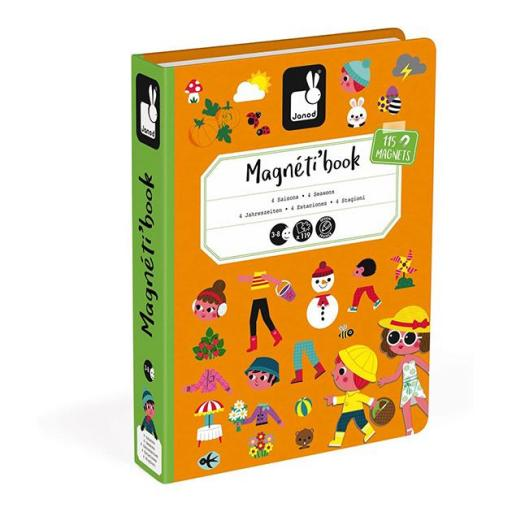 Magnetic book 4 estaciones