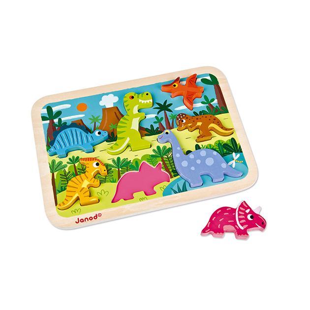 Chunky puzzle dinosaurios