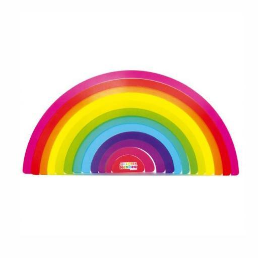 Arcoíris Waldorf para mesas de luz