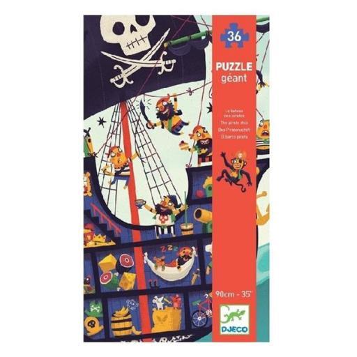 Puzzle gigante: el barco pirata