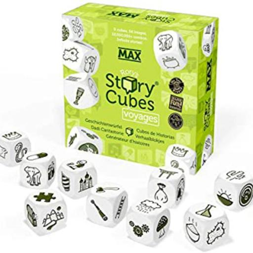 Story cubes verde voyages