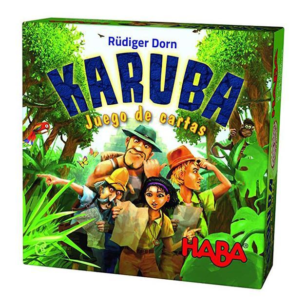 Karuba juego de cartas
