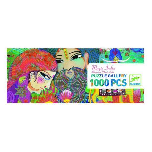 Puzzle India de 1000 piezas