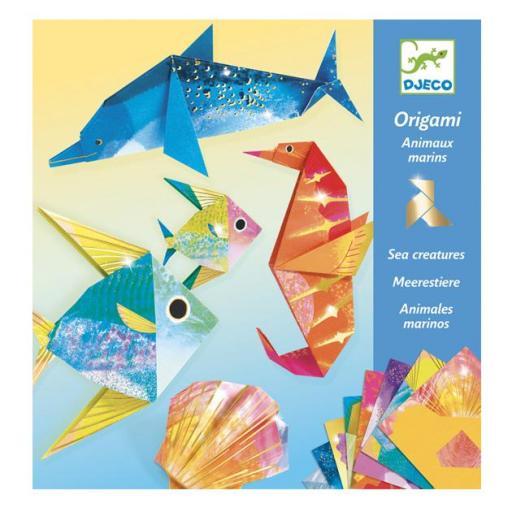 Origami: animales marinos