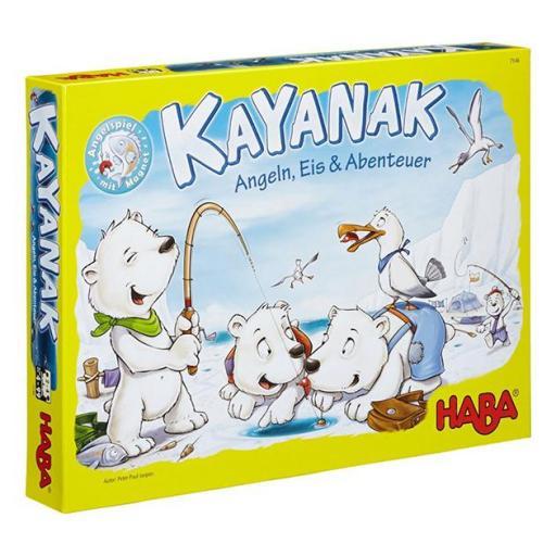Kayanak, pesca, hielo y aventura