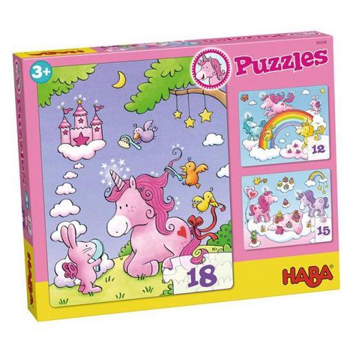 Puzzle unicornio destello