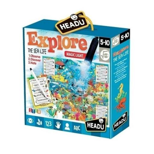 Explore the sea life puzzle