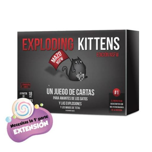 Exploding Kittens (ampliación) ADULTOS